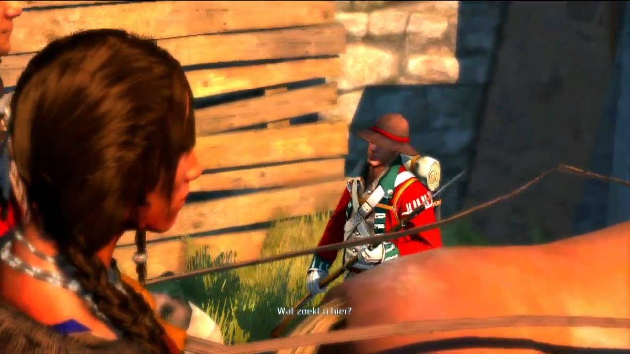 one piece easter-egg in assassin's creed 3 - YouTube