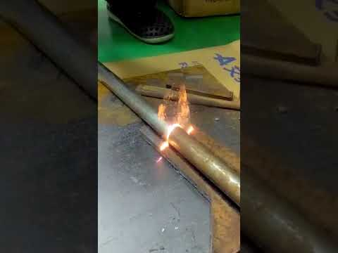 laser cleaning videos stainless steel pipe rust removal
