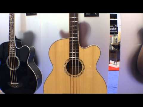 2014 Winter NAMM Show - Michael Kelly Acoustic Bass Guitars