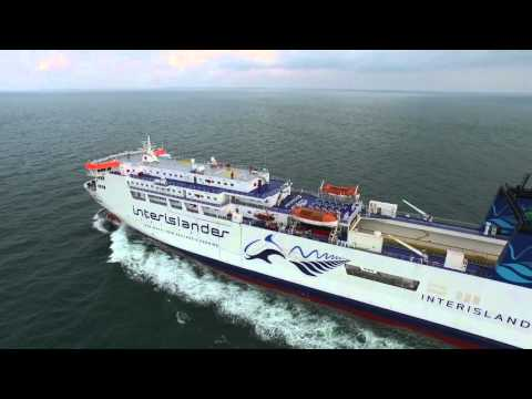 Stena RoRo - seatrial of the vessel Kaiarahi