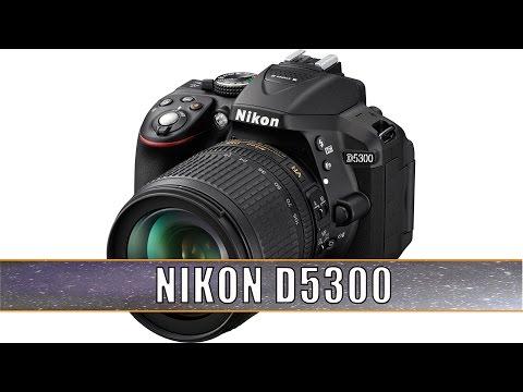Фотоаппарат Nikon D5300 Black KIT (DX 18-55 VR AF-P 24.1Mp 3
