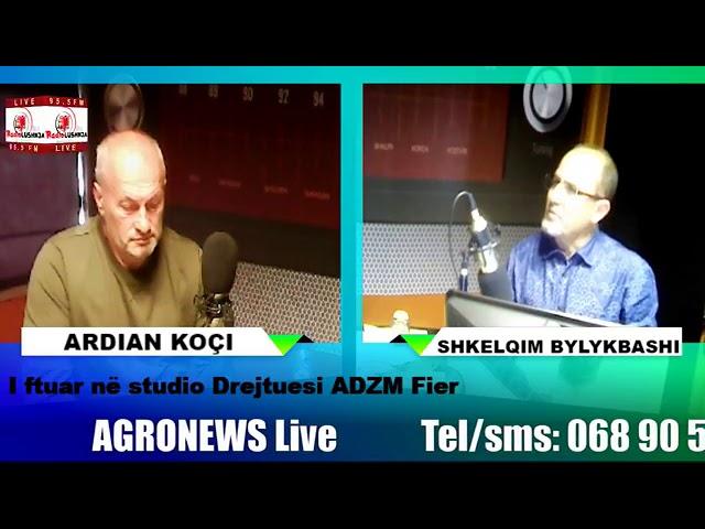 Agronews   I ftuar ne studio Ardian Koçi Drejtor i AdZM Fier