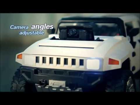 Детска играчка с дистанционно управление Джип Hummer 12