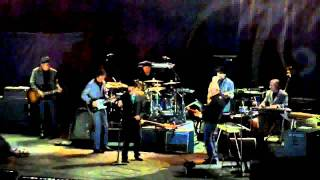 """Bob Dylan with Mark Knopfler """"Things Have Changed"""" LIVE Milano 2011"""
