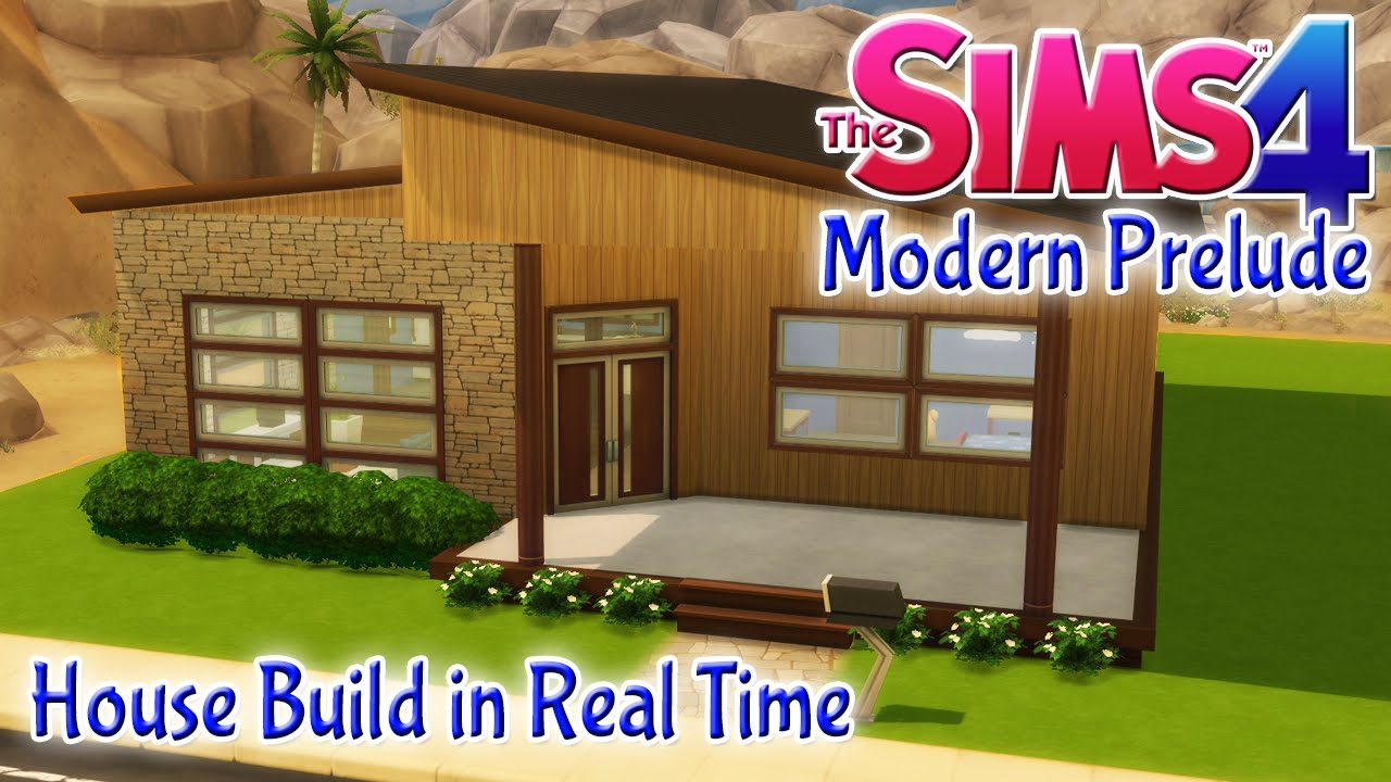 The sims 4 house build modern prelude 2 bedroom starter Build 2 bedroom house