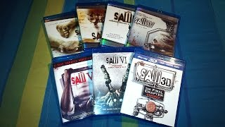 Saw Collection Blu-Ray Unboxing