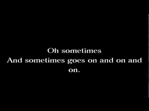 Candlebox - Sometimes (w/ lyrics)