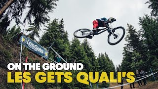 Here's what went down in Les Gets DH Qualifications   UCI MTB World Cup 2021