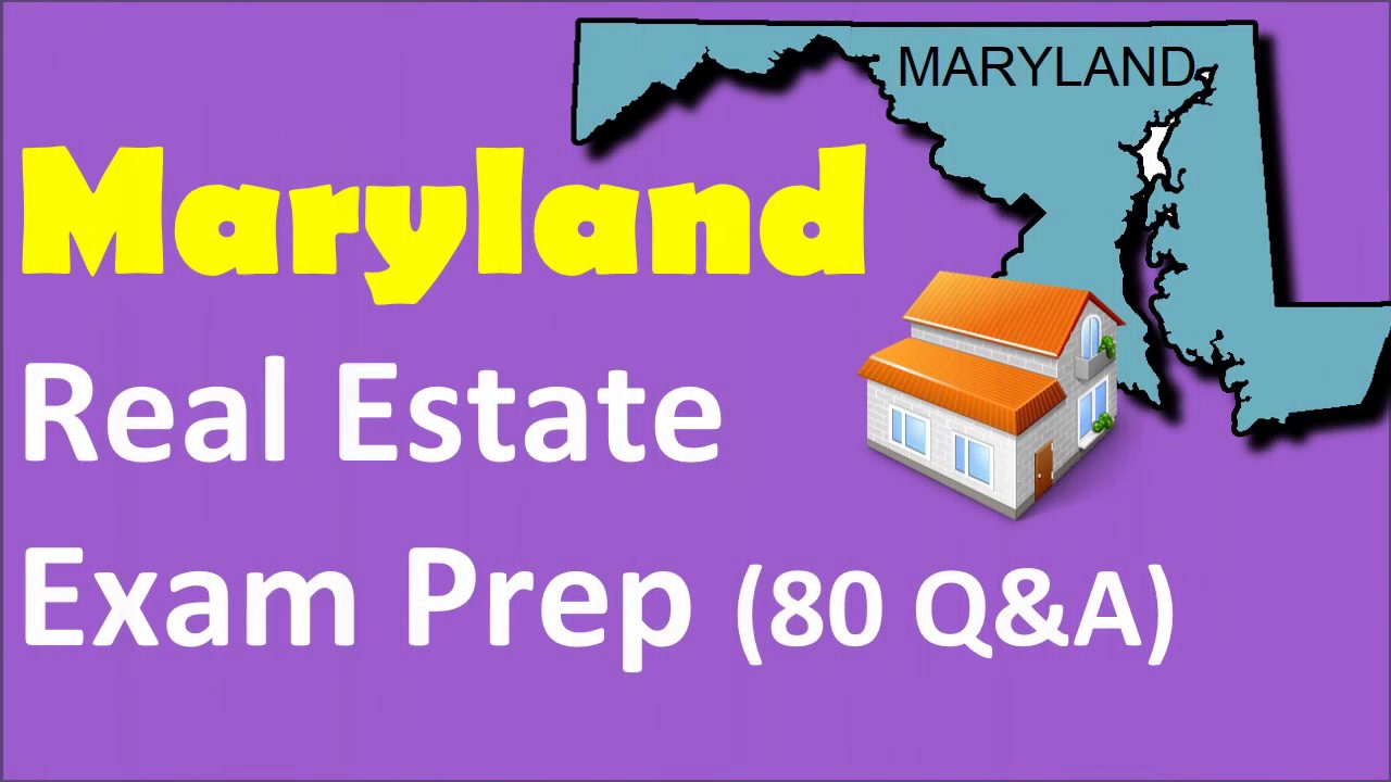 Maryland Real Estate Exam Prep with 80 Questions and Answers