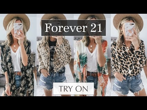 2d12396de128a Forever 21 Trendy Spring Try On Haul | Life By Lee