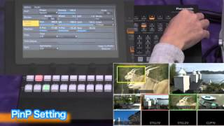 Switcher/AV-HS410 - PinP-Einstellung