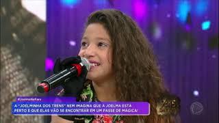 "Joelma surpreende fã mirim após ""truque de mágica"" thumbnail"