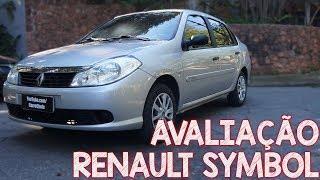 Avaliação Renault Symbol 2010 - sedã barato, confiável e bom pra uber!
