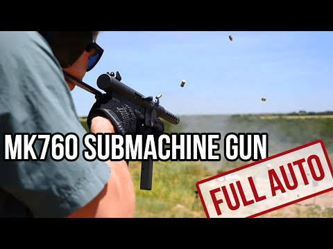 The MK760 (Smith and Wesson 76) Submachine Gun