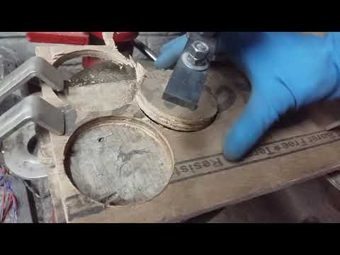Selfmade Circular cutter for wood.