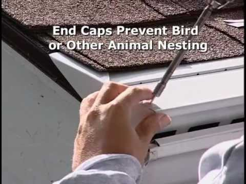 The Benefits Of Leafree Gutter Protection Youtube