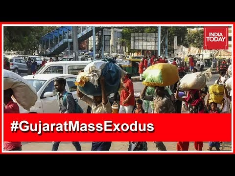 Migrant Workers Attacked Again In Vadodara, 1 Arrested | Gujarat Mass Exodus