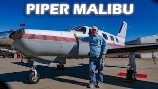 piper-malibu-flight-from-ft-worth-texas