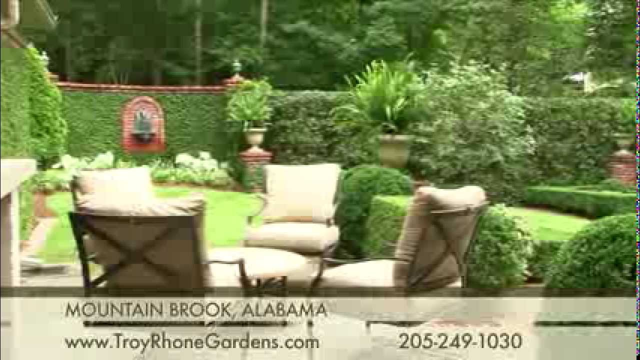 Formal Boxwood Garden Design By Troy Rhone Youtube