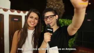 Interview Skrillex @ AmnesiaTV 2014