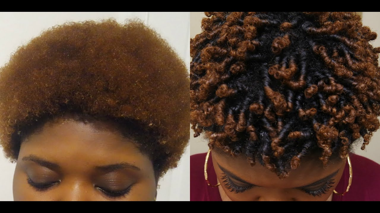 How To Defined Curls On Short Type 4 Hair Finger Coils