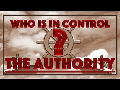 Who is in control? The Authority
