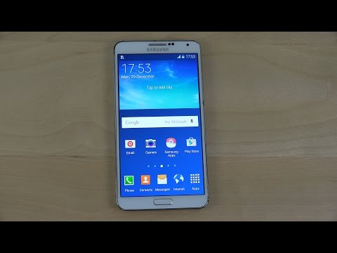 Samsung Galaxy Note 3 Official Android 5.0 Lollipop - Review (4K)