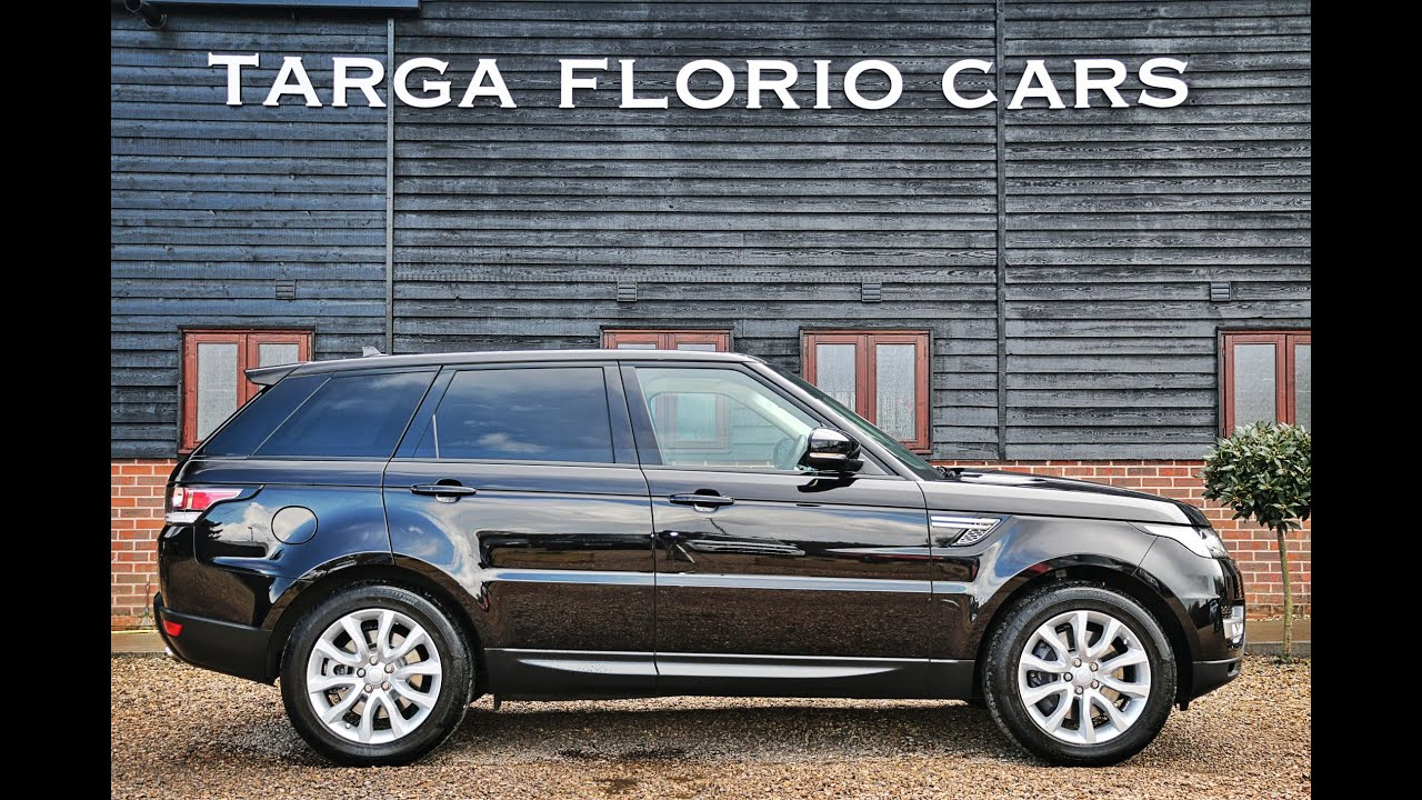 Range Rover Sport 3 0 SDV6 HSE in Barolo Black with Ivory and