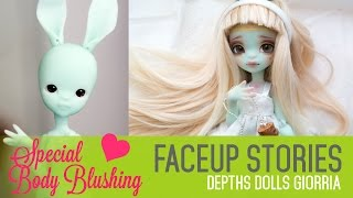 Repainting Depths Dolls Giorria - Faceup Stories 37