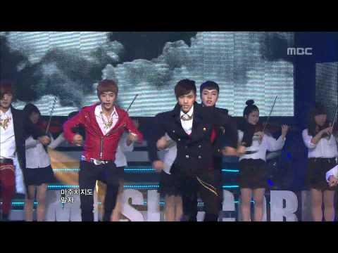 100% - Bad Boy, 백퍼센트 - 나쁜 놈, Music Core 20121103