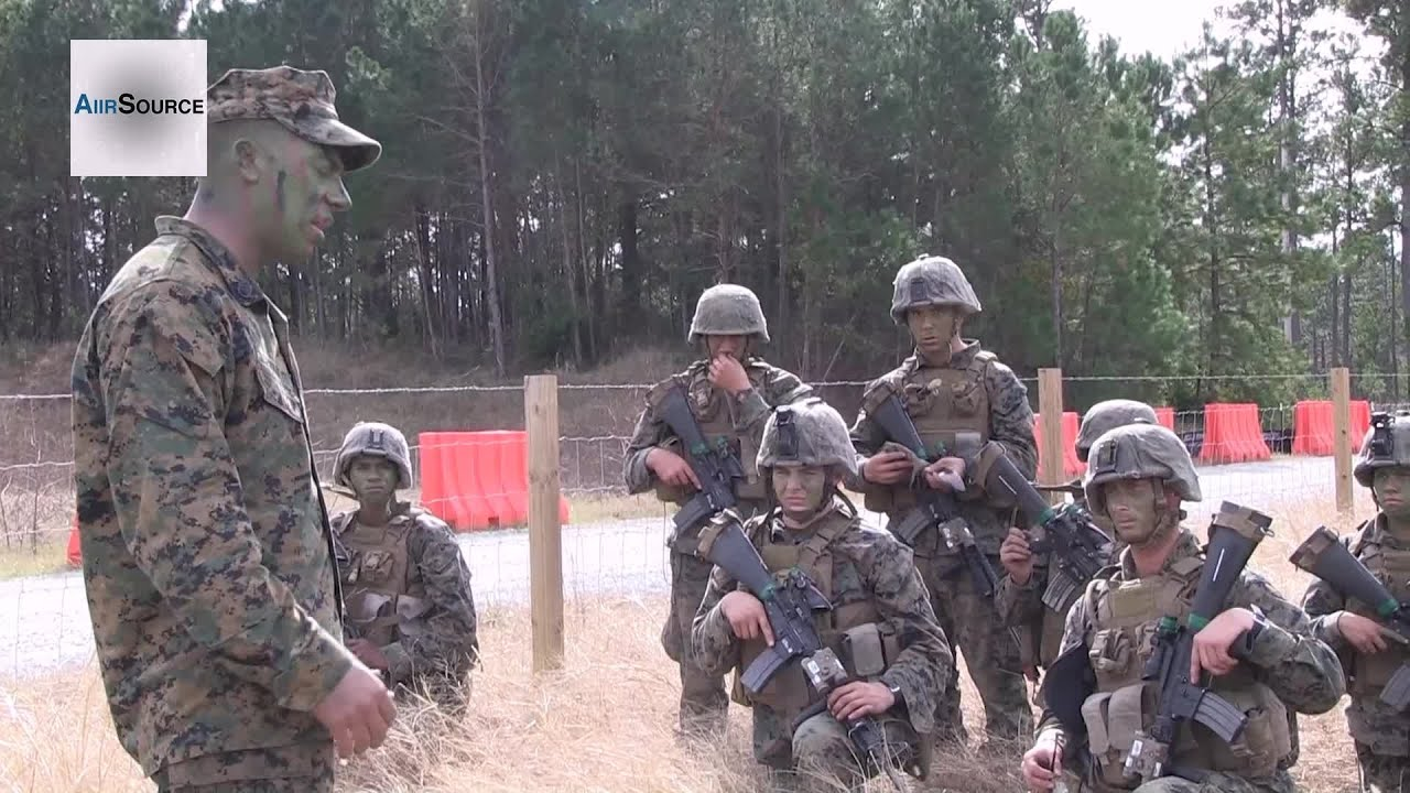 U.S. Marines Infantry Integrated Field Excercise - YouTube