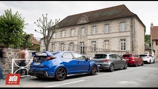 Comparatif GTI 2016 : Focus RS / Civic Type R / Peugeot 308 GTi / Leon Cupra [Partie 2/2]