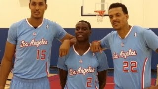 L. A. Clippers Trio of UCLA Bruins on the 2013-
