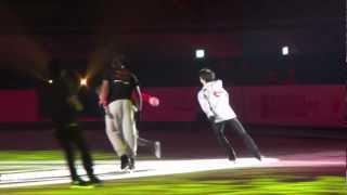 2013 Osaka Four Continents - Gala Show Training Extra ( Misha, Yuzu, Daisuke and Others)