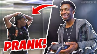 LIFT PRANK ON MY BROTHER!!!