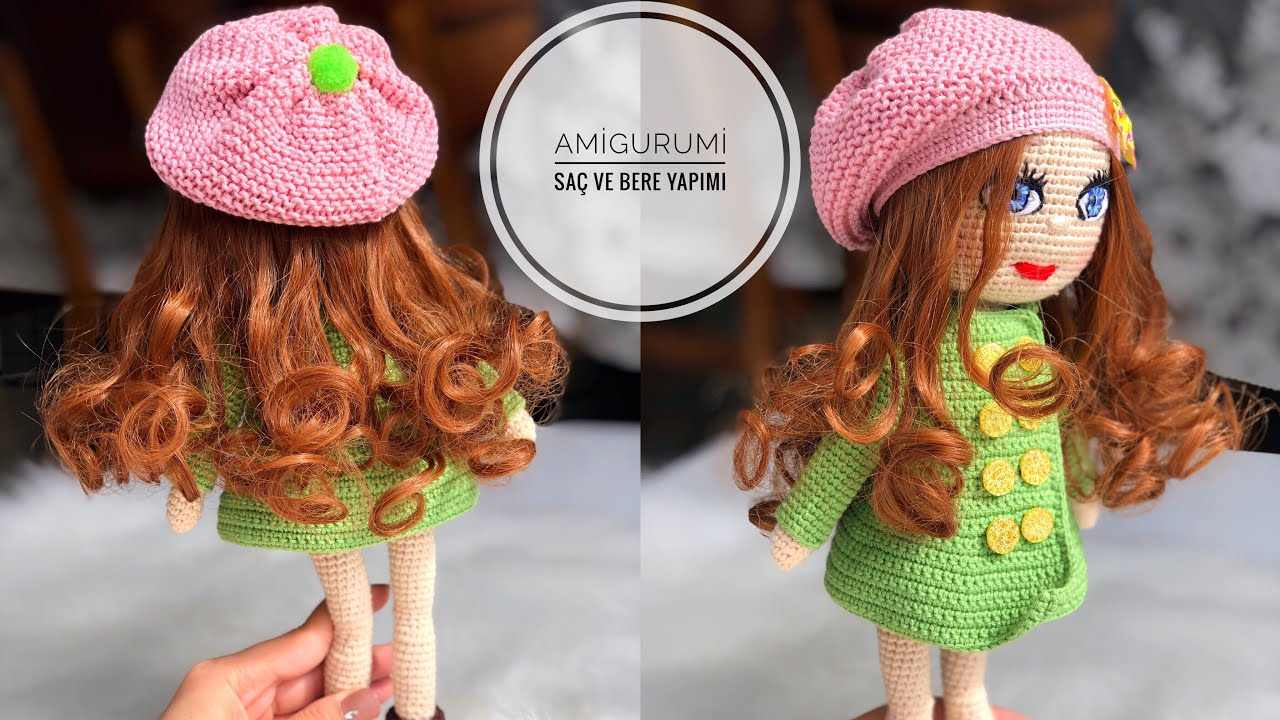 I think this is the best example of crochet hair on dolls. Looks so pretty!  ☂ᙓᖇᗴᔕᗩ ᖇᙓᔕ☂ᙓᘐᘎᓮ www.pinterest.com… | Crochet techniques, Crochet doll,  Crochet dolls | 720x1280