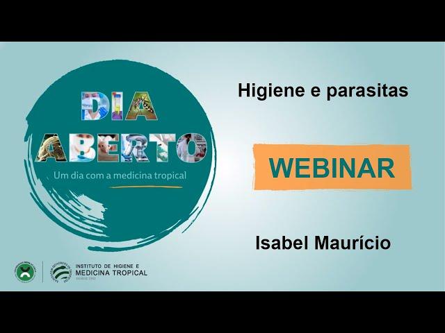 Webinar - Dia Aberto 2021- Higiene e parasitas