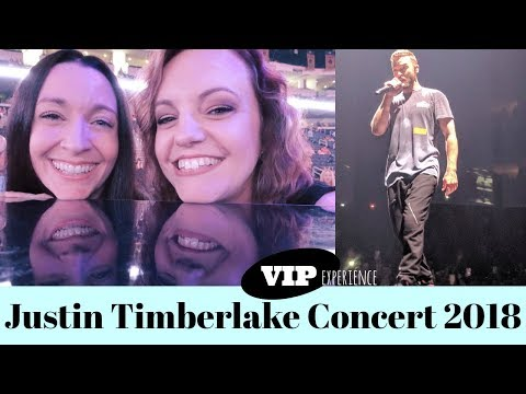 JUSTIN TIMBERLAKE | MAN OF THE WOODS TOUR | VIP EXPERIENCE | VLOG