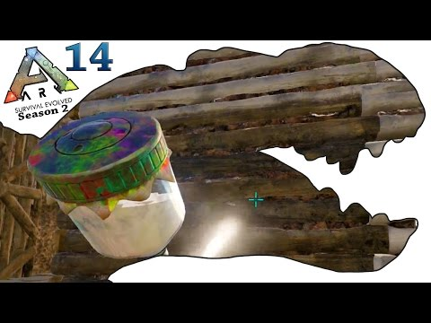 ARK Survival Evolved Gameplay - S2 Ep14 - Spray Painter and House Decor - Let's Play