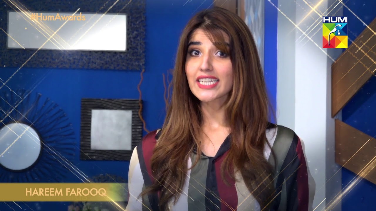 6th HUM AWARDS 2018 | Hareem Farooq | Hello Toronto