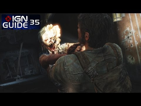The Last Of Us Walkthrough Part 35 - Bus Depot: Underground Tunnel
