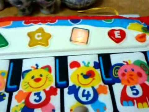 Fisher Price Kick N Play Piano Crib - YouTube