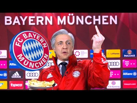 Ancelotti wiederholt Stinkefinger auf Bayern-PK | Matze Knop als Carlo Ancelotti