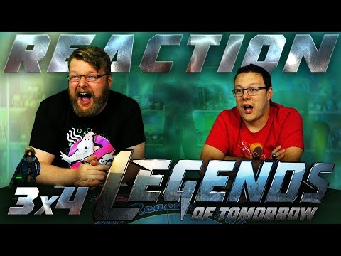 "Legends of Tomorrow 3x4 REACTION!! ""Phone Home"""