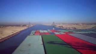 عبور أكبر حاملة حاويات فى العالم قناة السويس