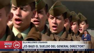 General director de Carabineros gana 3.500.000 mensuales: