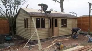 Log Cabin Effect Garden Summerhouse