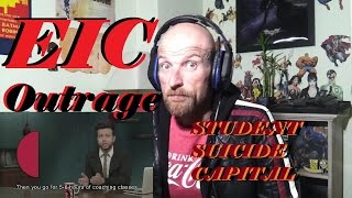 EIC Outrage: Student Suicide Capital -Reaction