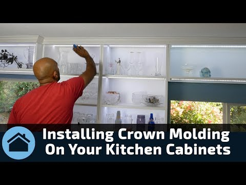 Installing Crown On Cabinets Doovi