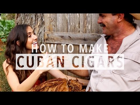 How to make Cuban cigars